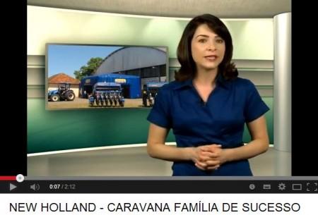 Caravana Família de Sucesso New Holland em Montenegro